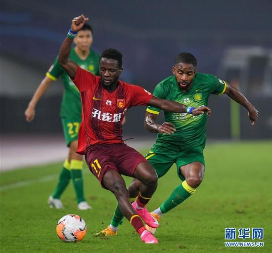 (体育)(3)足球――中超:河北华夏幸福平北京中赫国安