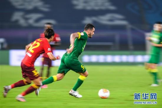 (體育)(4)足球——中超:河北華夏幸福平北京中赫國安
