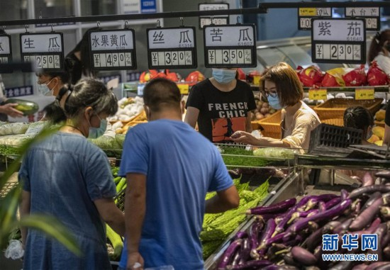 """(热点鲜报・图文互动)(2)网传云南瑞丽""""全城买菜、超市搬空""""?谣言!"""