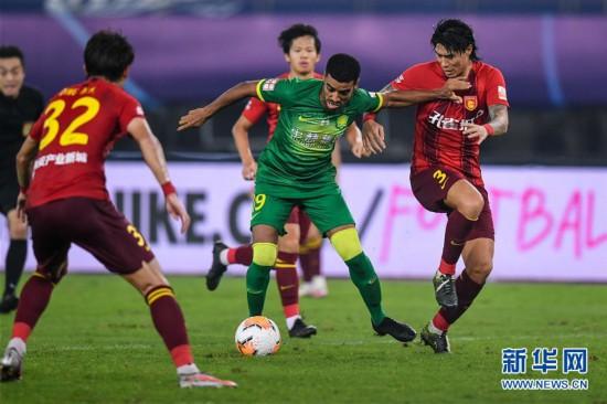 (體育)(5)足球——中超:河北華夏幸福平北京中赫國安