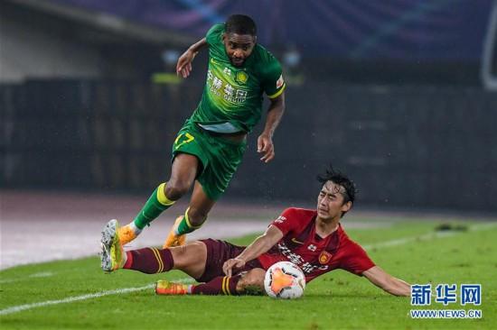 (體育)(2)足球——中超:河北華夏幸福平北京中赫國安