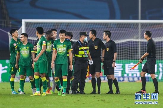 (體育)(8)足球——中超:河北華夏幸福平北京中赫國安