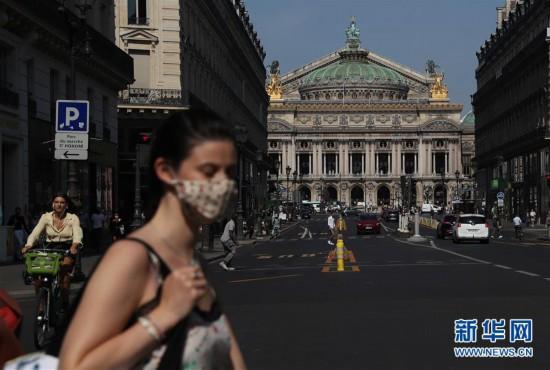 (国际疫情)(5)法国累计新冠确诊病例超40万例