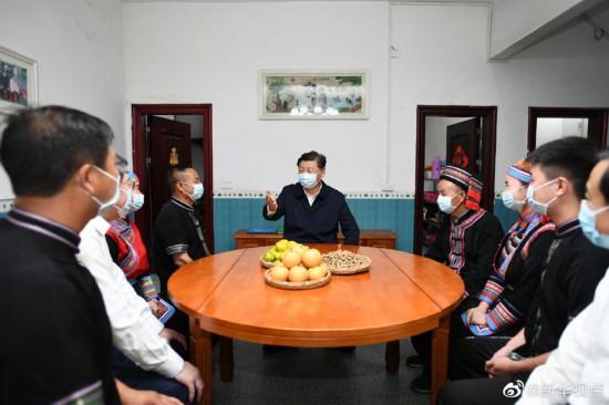 习近平:今天我到这里来,也是受教育