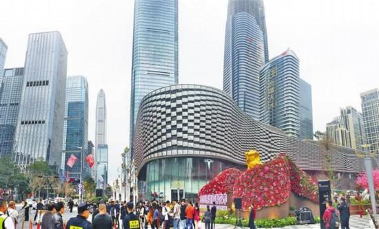 """深圳城中村""""蝶变""""都市风景线"""