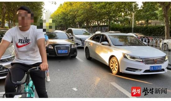 南京一非机动车道变停车位 交警:不需要征求意见