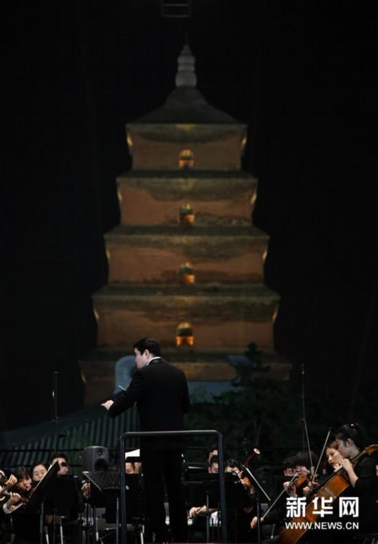 (文化)(2)西安交响乐团奏响2020户外公演