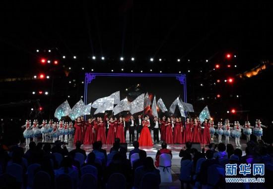 (體育)(4)北京冬奧會倒計時500天長城文化活動在八達嶺長城舉行