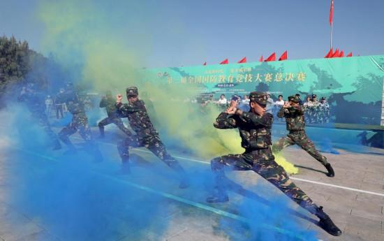 第三届全国国防教育竞技大赛总决赛在山西武乡隆重举行_fororder_10 中华