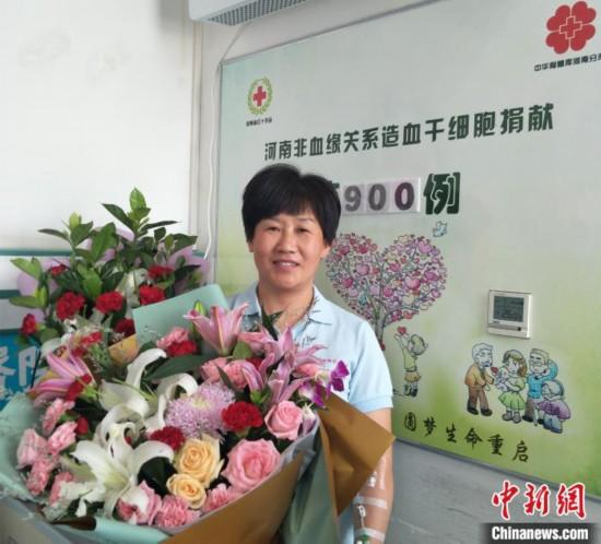 河南省非血緣關系造血干細胞捐獻突破900例