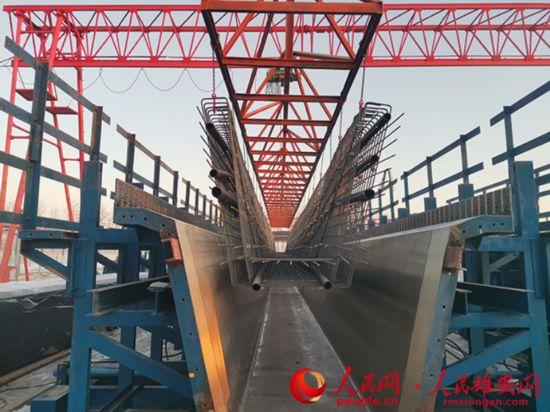 京雄高速SG6標預制箱梁生產任務提前完成