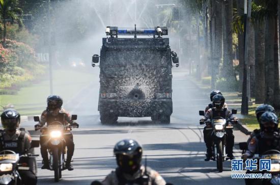(國際疫情)印度尼西亞:消殺防疫