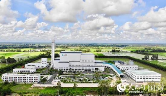 中企承建越南芹苴垃圾发电项目完成环保工程
