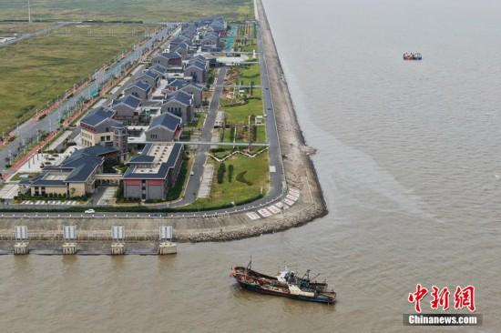 """启东吕四:现代化渔港""""勾勒""""经济发展新图景"""