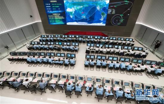"""(科技)(2)""""天问一号""""探测器顺利完成深空机动"""