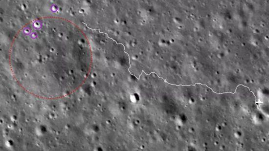 """第23月昼工作期!嫦娥四号再次成功唤醒 """"玉兔二号""""将驶向目标区域探测岩块"""