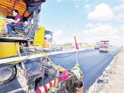 南通海門345國道海門東段工程預計11月完工