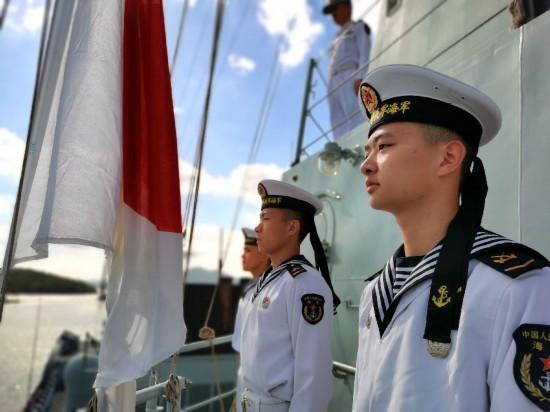 中国海军第35批护航编队凯旋