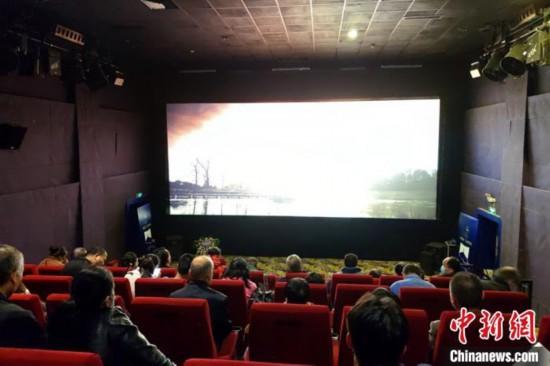 西安60余名視障人士走進影院用耳朵聆聽光影世界