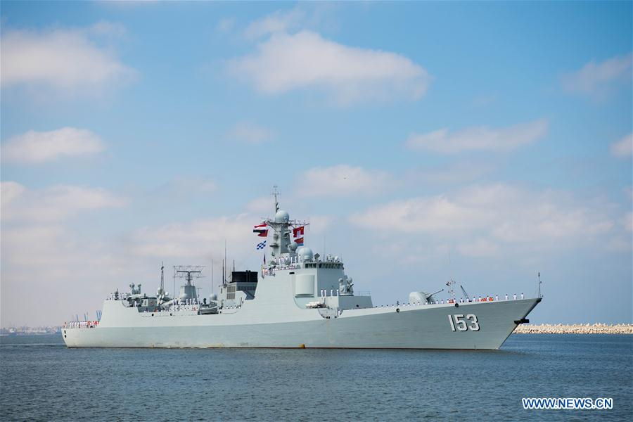 EGYPT-ALEXANDRIA-CHINESE MISSILE DESTROYER