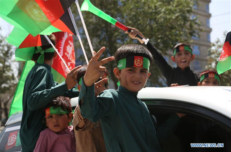 Afghans celebrate Afghan Independence Day
