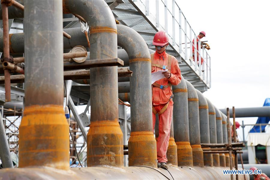 CHINA-HEILONGJIANG-CHINA-RUSSIA GAS PIPELINE-CONSTRUCTION (CN)