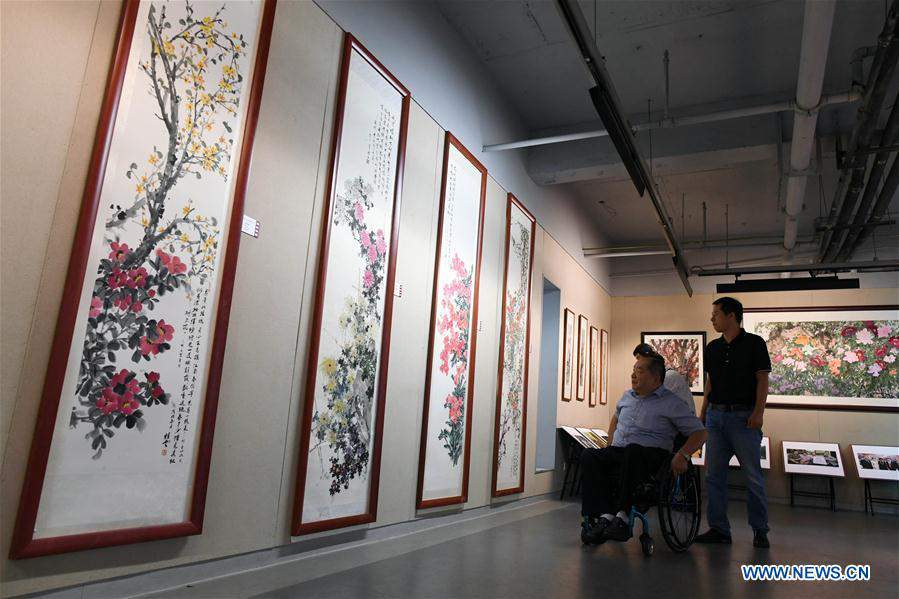 Paintings from countries and regions along Belt and Road exhibited in Changchun, NE China