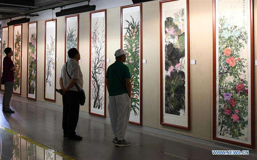 CHINA-JILIN-CHANGCHUN-ART EXHIBITION-BELT AND ROAD (CN)