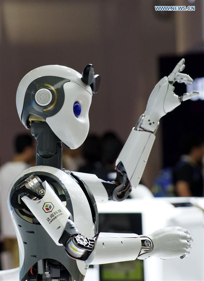 CHINA-BEIJING-WORLD ROBOT EXHIBITION (CN)