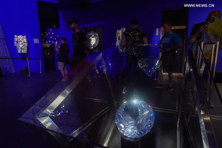 In pics: Swarovski Crystal Worlds in Wattens, Austria