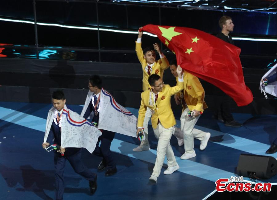 China takes the crown at WorldSkills Competition