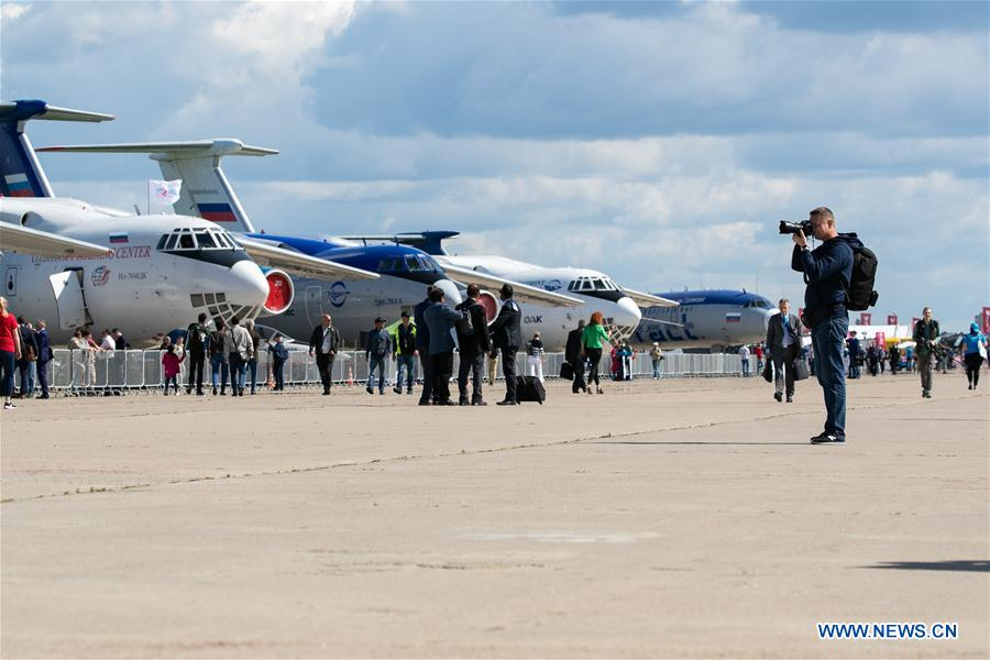 RUSSIA-MOSCOW-AIR SHOW-MAKS 2019