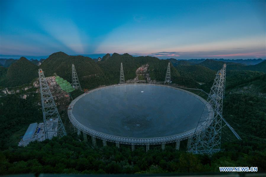 China's FAST telescope to greet third anniversary of operation