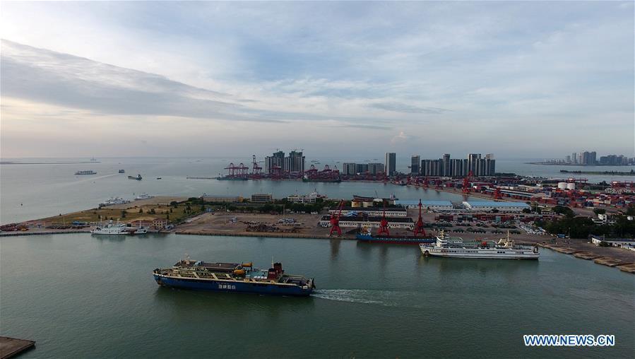 CHINA-HAINAN-TYPHOON-FERRY SERVICE-HALT (CN)