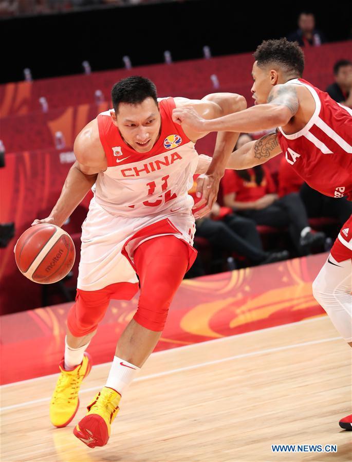 (SP)CHINA-BEIJING-BASKETBALL-FIBA WORLD CUP-GROUP A-CHN VS POL(CN)