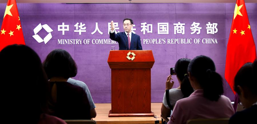 CHINA-BEIJING-MINISTRY OF COMMERCE-PRESS CONFERENCE (CN)