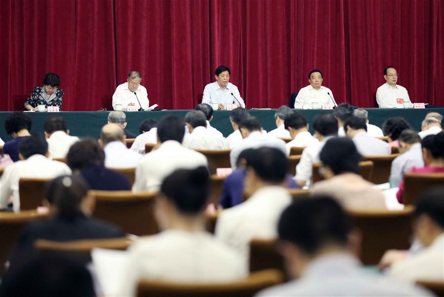 CHINA-TIANJIN-LI ZHANSHU-PROVINCIAL-LEVEL PEOPLE'S CONGRESS (CN)