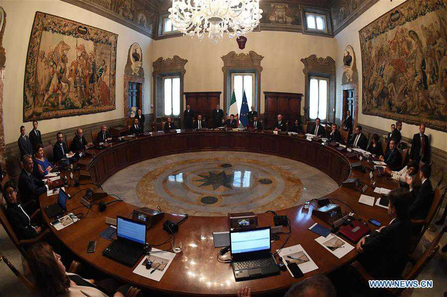 ITALY-ROME-NEW MINISTERS-SWORN IN
