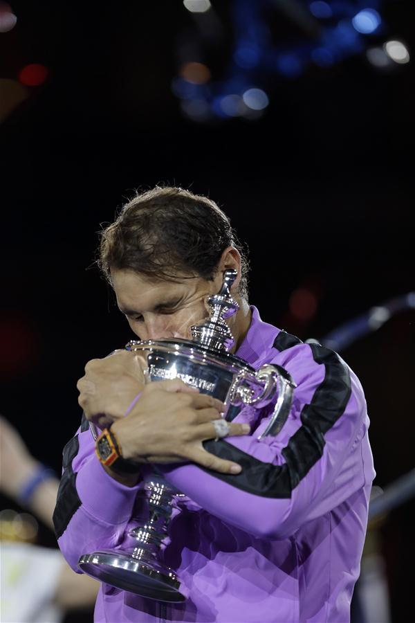 Nadal wins men's singles final at US Open