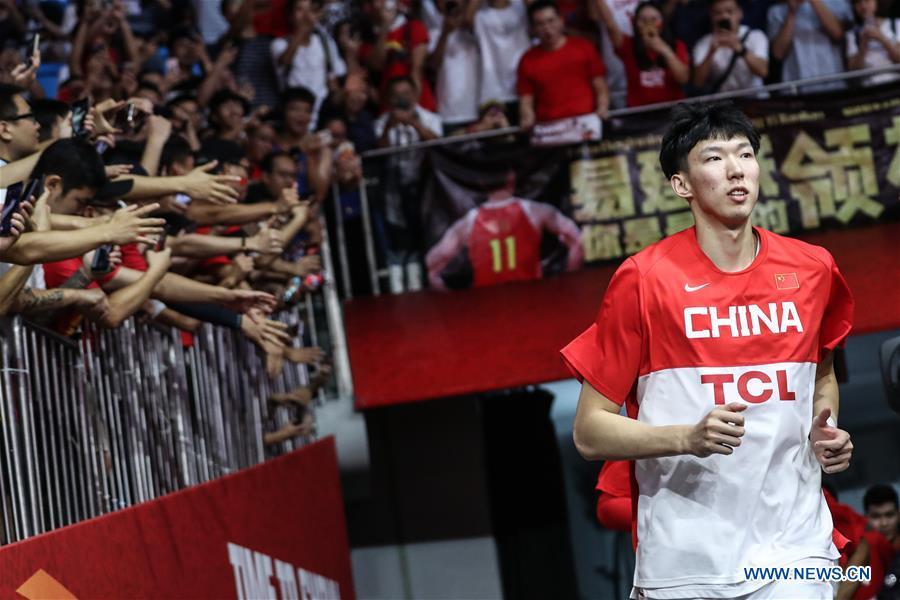 (SP)CHINA-GUANGZHOU-BASKETBALL-FIBA WORLD CUP-GROUP M-CHN VS NGR(CN)