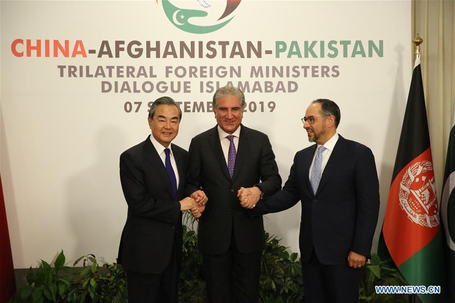 PAKISTAN-ISLAMABAD-WANG YI-AFGHANISTAN-PAKISTAN-FM-DIALOGUE