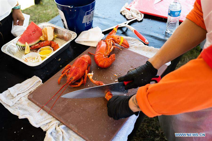 U.S.-LOS ANGELES-LOBSTER FESTIVAL
