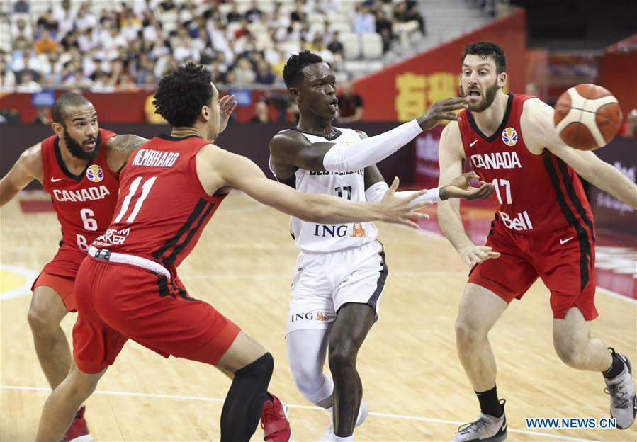 (SP)CHINA-SHANGHAI-BASKETBALL-FIBA WORLD CUP-GROUP P-GERMANY VS CANADA (CN)