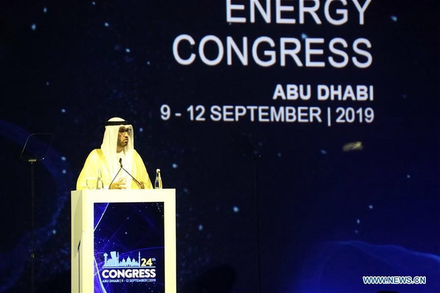 UAE-ABU DHABI-WORLD ENERGY CONGRESS