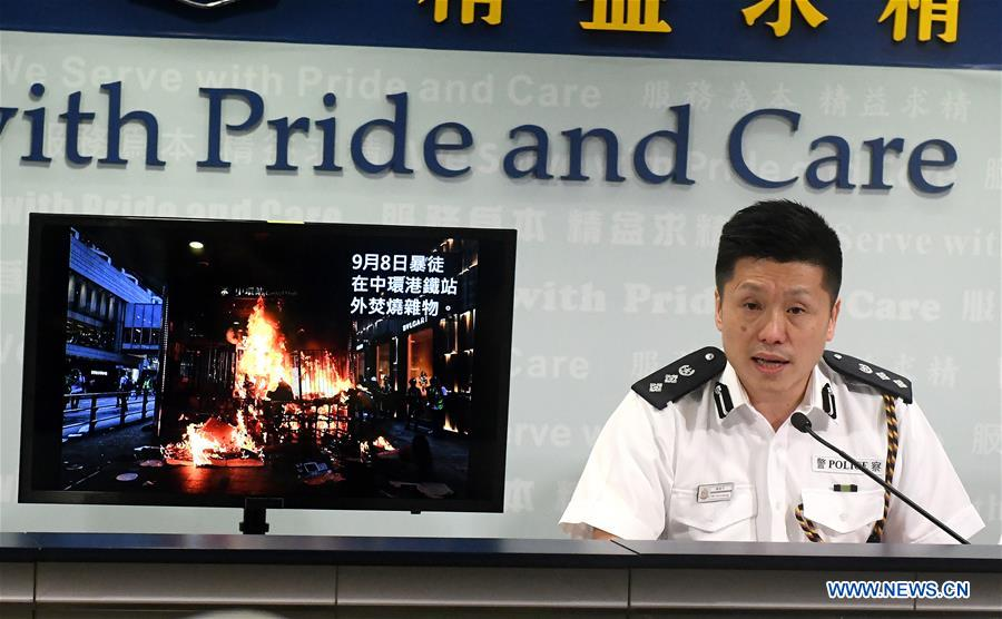 CHINA-HONG KONG-POLICE-PRESS CONFERENCE (CN)