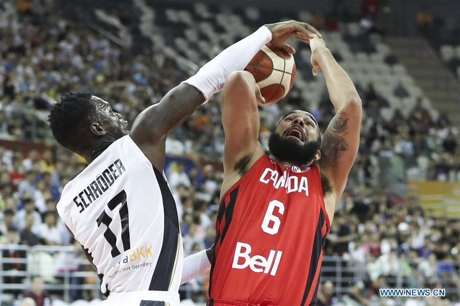 (SP)CHINA-SHANGHAI-BASKETBALL-FIBA WORLD CUP-GROUP P-GERMANY VS CANADA (CN)