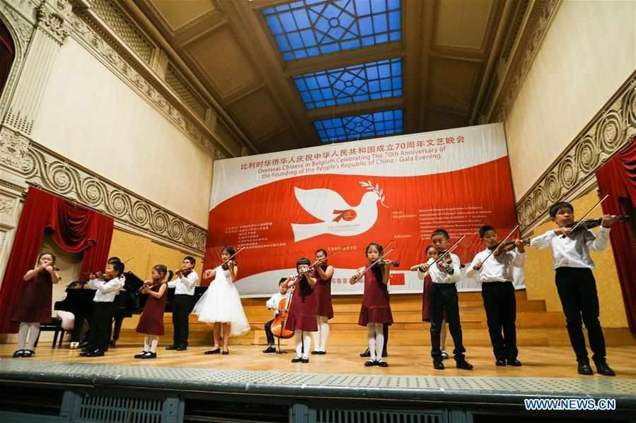 BELGIUM-BRUSSELS-OVERSEAS CHINESE-FOUNDING-PRC-GALA