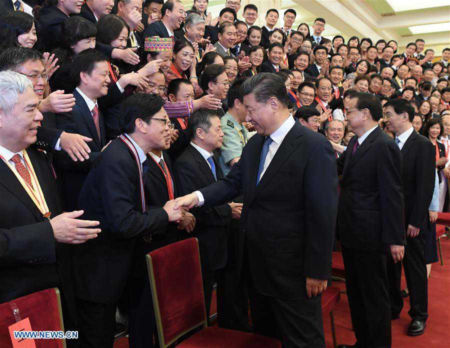 CHINA-BEIJING-XI JINPING-REPRESENTATIVES-EDUCATION CIRCLES-MEETING (CN)