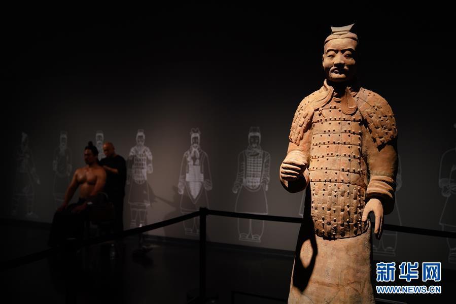 """(文化)(4)""""与天久长――周秦汉唐文化与艺术特展""""在北京举行"""