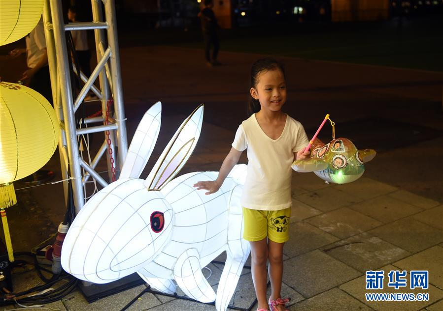 (文化)(5)香港举办中秋彩灯会